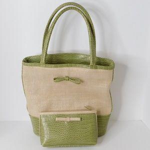 NWOT Estee Lauder Tote and Make-up Bag